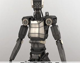 Sentinel Bot Rigged 3D
