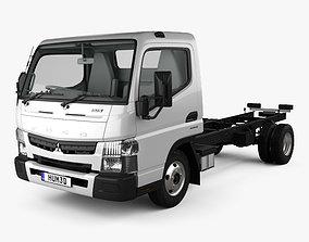 Mitsubishi Fuso Canter 515 WSC CT with HQ interior 2016 3D