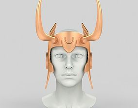 3D print model Loki lady helmet