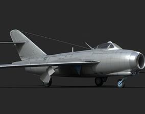mig-17 3D model