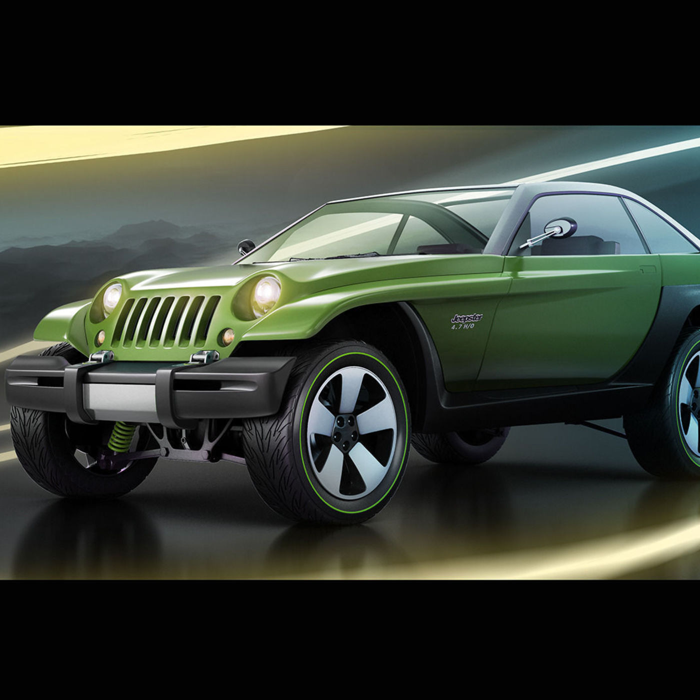 1998 Jeep Jeepster concept style