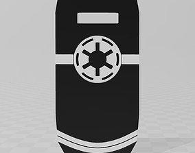 3D print model Star Wars Clone Trooper Blast Shield Clone