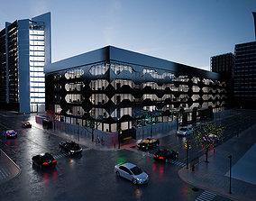 Modern Commercial office 3D model