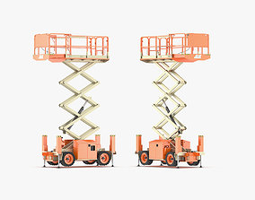 3D model JLG Engine Powered Scissor Lift