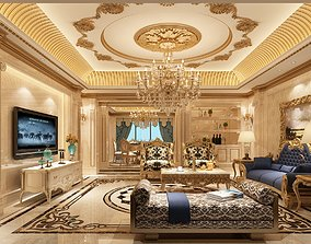 luxury home interior 3D