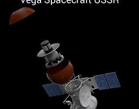 Vega Spacecraft USSR 3D