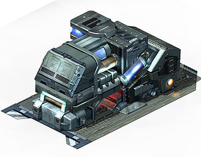 3D Machinery - Spacecraft - Functional Objects 015