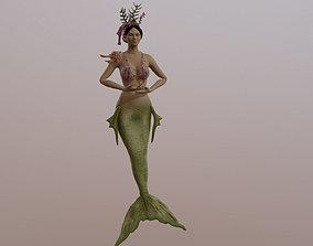 Sea Mermaid 3D asset