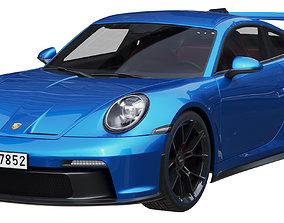 Porsche 911 GT3 2021 fast 3D