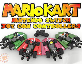 4 for 1 Mario Kart N Friends Nintendo 3D print model 3