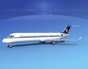 3D Comac ARJ21-900 Myanmar Airlines