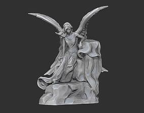 angel wings Angel 3D printable model