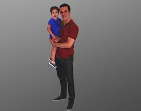 No49 - Father and Daughter 3D