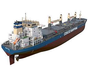 Bulk carrier Cosco cargo-container 3D