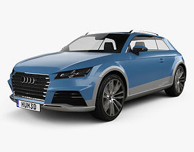 3D model Audi Allroad Shooting Brake 2014