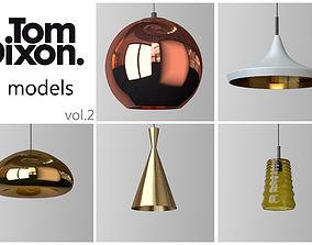 3D model TOM DIXON lighting set 2