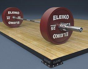 Platform bar 3D model