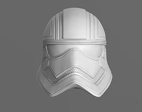 3D printable model Captain Phasma Helmet Fan Art