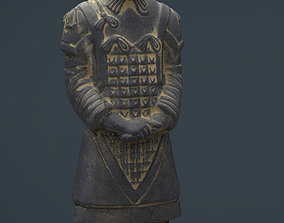 3D asset Terracotta Warriors General