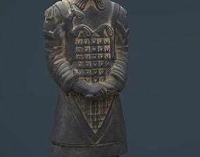 3D asset Terracotta Warriors General