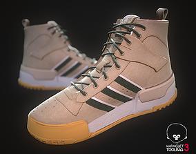 3D asset Sneaker Adidas Eric Emanuel Rivalry RM Beige