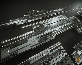 3D asset Tech Shapes TS2