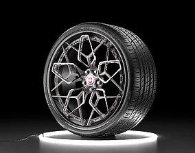game-ready Car wheel NEXEN NFERA SU1 tire with HRE HRE3D