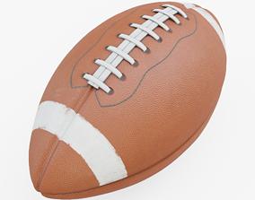 quarterback American Football 3D asset VR / AR ready PBR