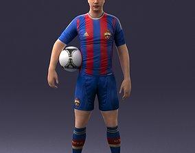 Football player 0510 3D Print Ready
