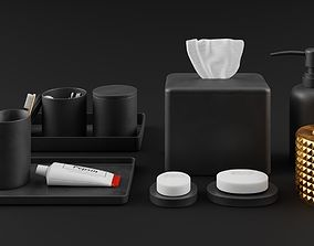 Nawaitu Studio Interior Models Volume 01 Bathroom 3D 1