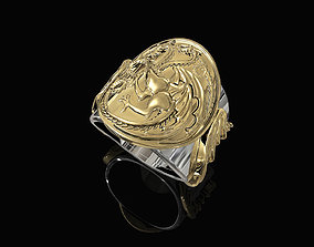 Targaryen Ring-Game of Thrones 3D printable model