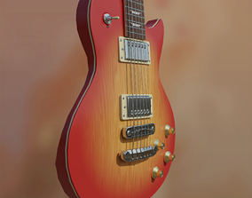 3D model Guitar Les Paul Aria PE-350