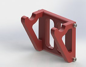 Skateboard and ESK8 wall mount 3D printable model