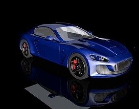 3D model VR / AR ready Maserati GranTurismo