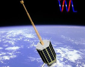 3D model Rasad-1 Satellite