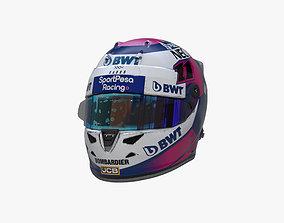 3D model Perez helmet 2019