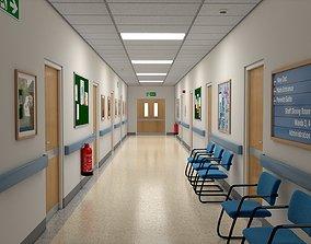 3D hospital Hospital Hall