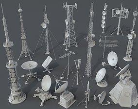 3D Antennas - 20 pieces - part -1 radio