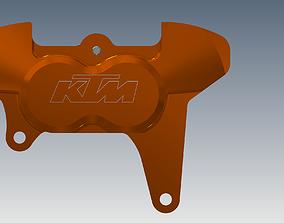 3D print model KTM brake caliper