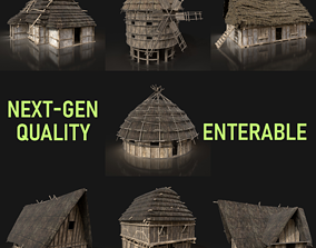 3D model Next Gen AAA Medieval Village Collection - 7 1