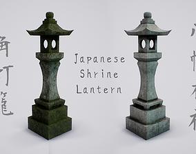 3D asset Japanese Shrine Lantern - 4K PBR Textures