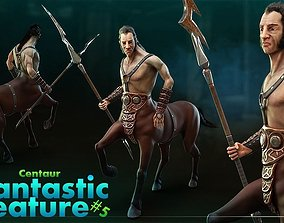 Centaur 3D asset animated