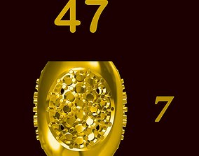 Para ball jewelery gold printable plain studded 47