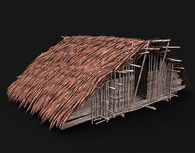3D asset TRIBAL JUNGLE HUT - come visit our profile for 2