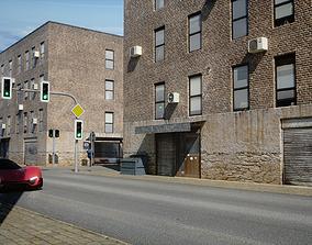 3D asset Street Scene