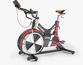 Wattbike Pro Indoor Cycle 3D