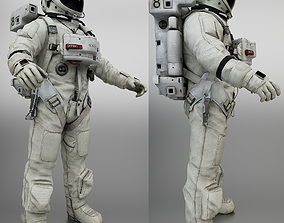 Space Suit 3D asset