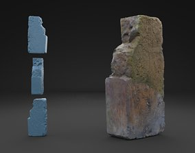 3D model Scanned Old Brick HIGH POLY
