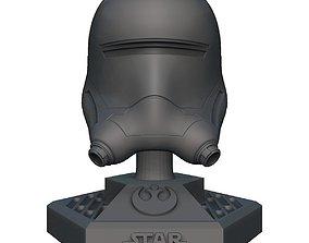Star Wars Flame Helmet 3D print model