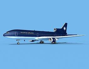 Lockheed L-1011 Navstar 3D model